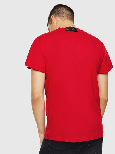 Diesel - LCP-T-DIEGO-RIO, Rosso - T-Shirts - Image 3