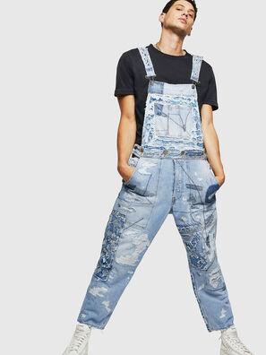 D-HARU-SY, Blu Jeans - Tute e Salopette