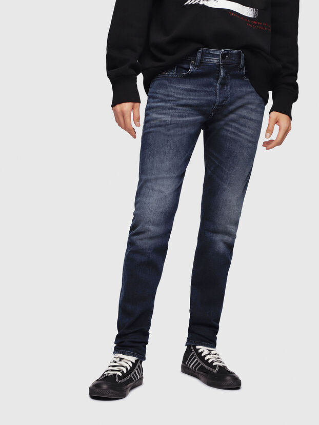 Buster 087AS, Blu Scuro - Jeans