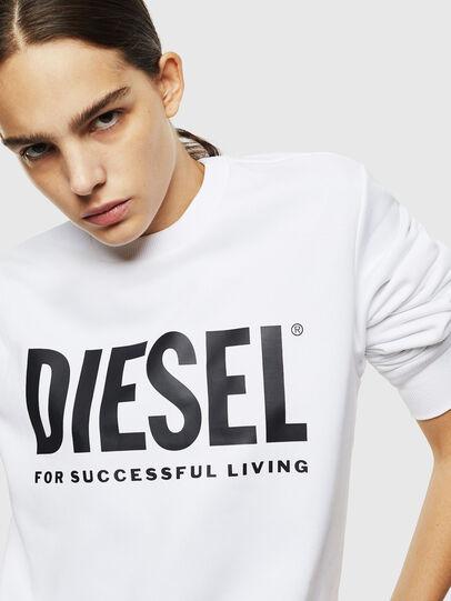 Diesel - S-GIR-DIVISION-LOGO, Bianco - Felpe - Image 6