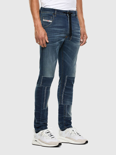 Diesel - KROOLEY JoggJeans® 069NK, Blu medio - Jeans - Image 6