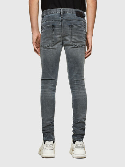 Diesel - D-Reeft JoggJeans® 069RD, Nero/Grigio scuro - Jeans - Image 2