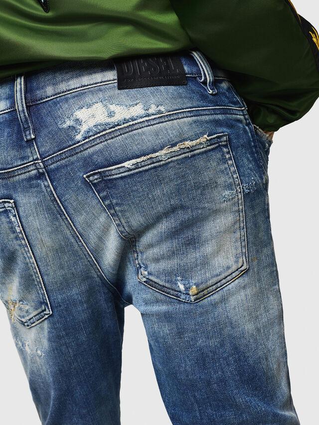 Diesel - D-Reeft JoggJeans 0870Q, Blu medio - Jeans - Image 5