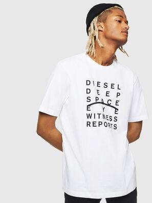 T-JUST-J5, Bianco - T-Shirts