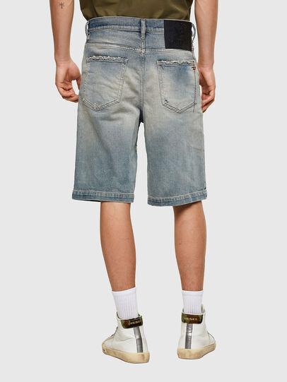Diesel - D-MACS-SHORT, Blu Chiaro - Shorts - Image 2