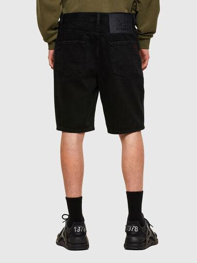 Diesel - D-STRUKT-SHORT, Nero - Shorts - Image 2