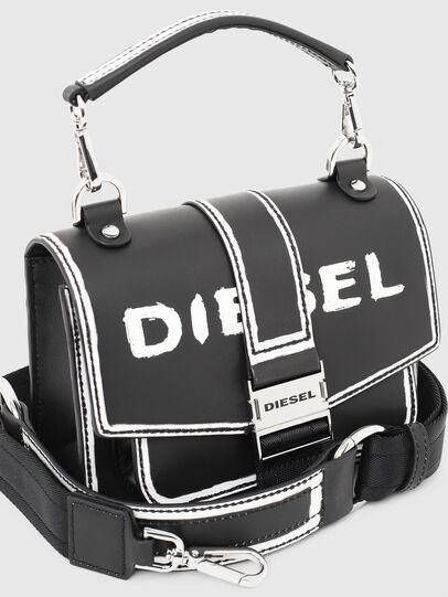 Diesel - MISS-MATCH CROSSBODY, Nero/Bianco - Borse a tracolla - Image 4