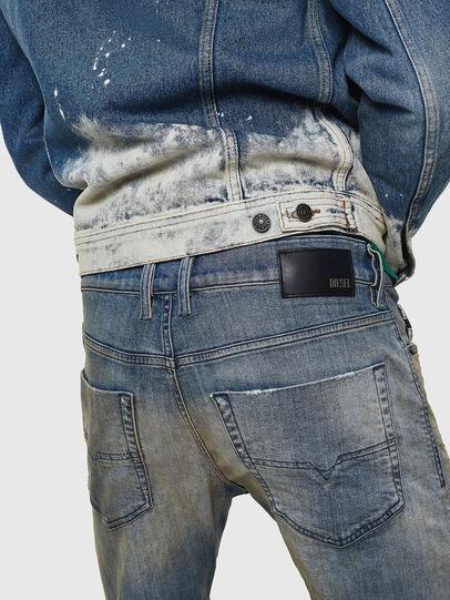 Diesel - Tepphar 084AQ, Blu Chiaro - Jeans - Image 4