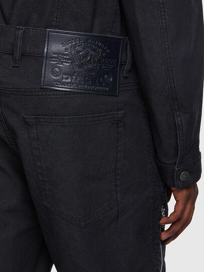Diesel - D-VIDER JoggJeans® 0DDAX, Nero/Grigio scuro - Jeans - Image 3