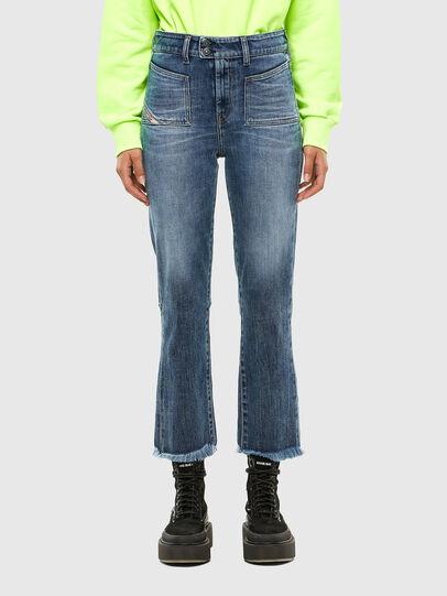 Diesel - D-Earlie 0098W, Blu medio - Jeans - Image 1