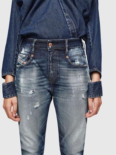 Diesel - Fayza 0092I, Blu Scuro - Jeans - Image 3