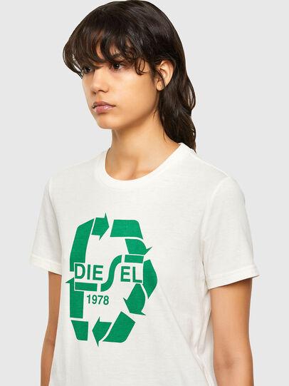 Diesel - T-SILY-V32, Bianco - T-Shirts - Image 3