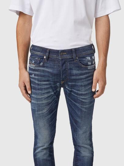 Diesel - Sleenker 09A85, Blu Scuro - Jeans - Image 3