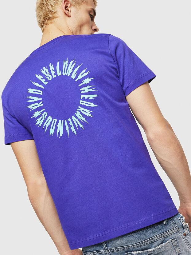 T-DIEGO-A12, Viola - T-Shirts