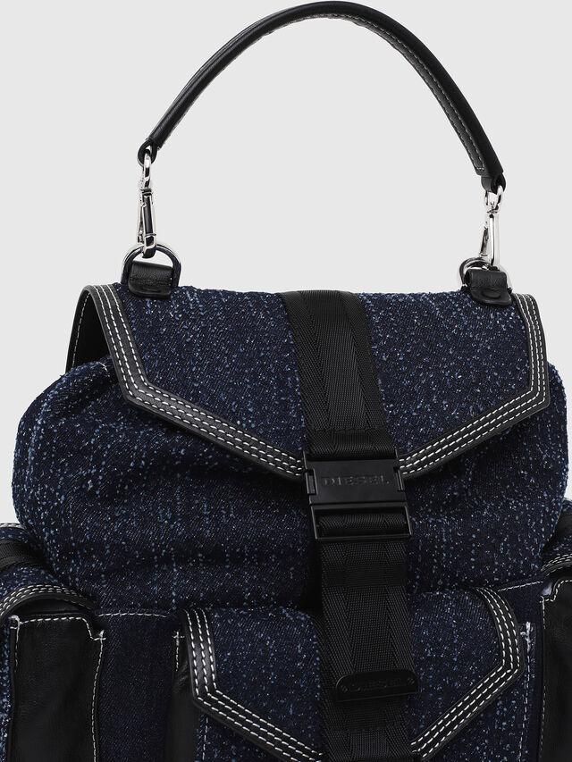 Diesel - MISS-MATCH BACKPACK, Blu Jeans - Zaini - Image 4