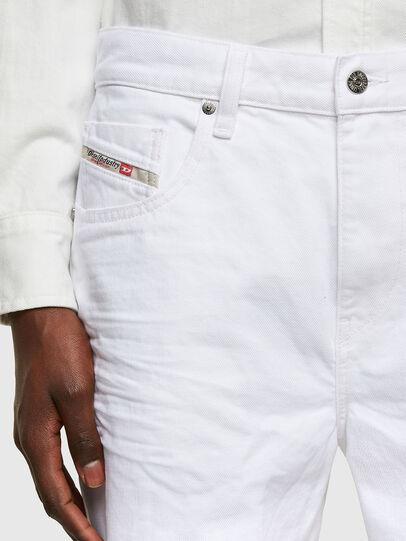 Diesel - D-STRUKT-SHORT, Bianco - Shorts - Image 3