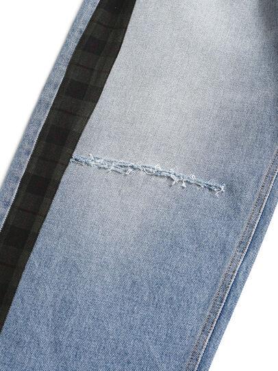 Diesel - D-DEEPCHECKDENIM, Blu Chiaro - Pantaloni - Image 4