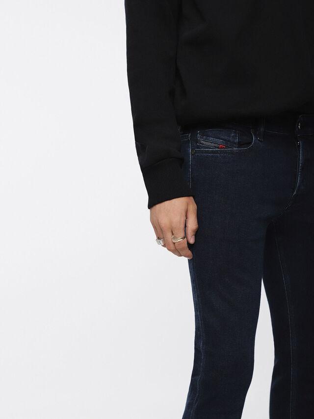 Diesel - Sleenker 084YD, Blu Scuro - Jeans - Image 3