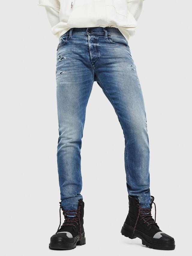 Diesel - Tepphar 0090L, Blu medio - Jeans - Image 1