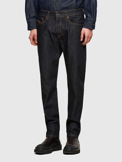 Diesel - D-Fining 009HF, Blu Scuro - Jeans - Image 1