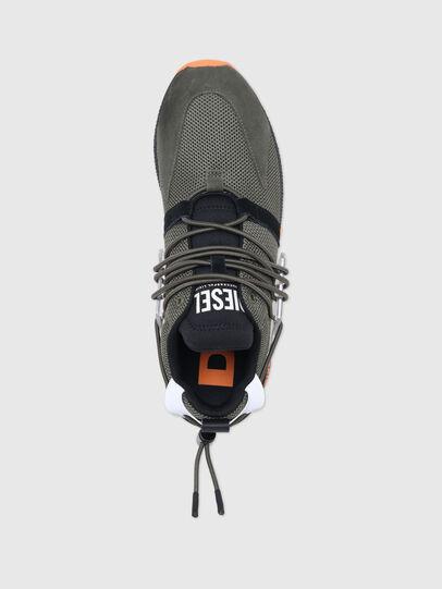 Diesel - S-KB UP LACE, Verde Militare - Sneakers - Image 5