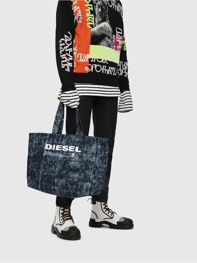 Diesel - D-THISBAG SHOPPER L, Blu Jeans - Shopper e Borse a Spalla - Image 5