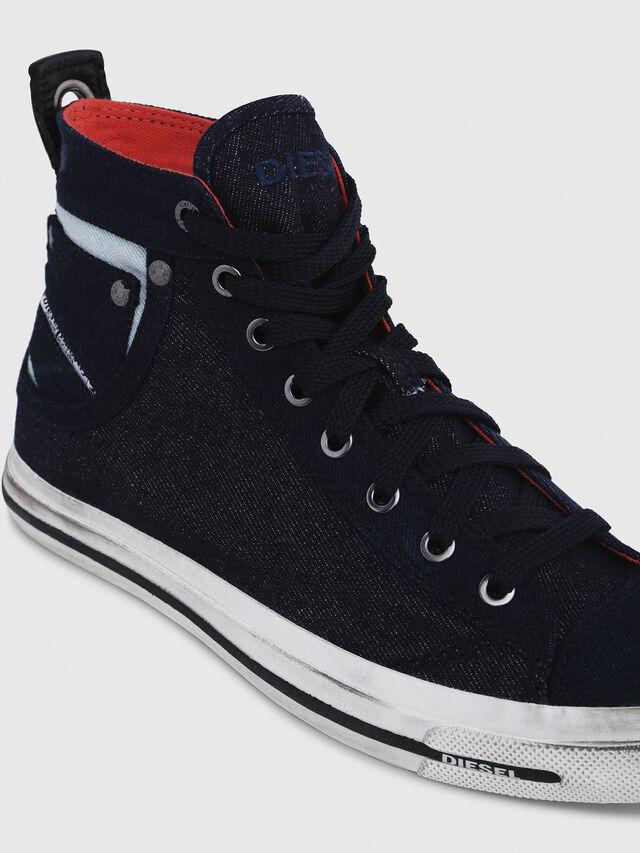 Diesel - EXPOSURE IV W, Blu Scuro - Sneakers - Image 4
