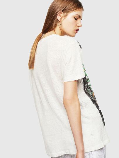 Diesel - T-DARIA-YB, Bianco - T-Shirts - Image 2