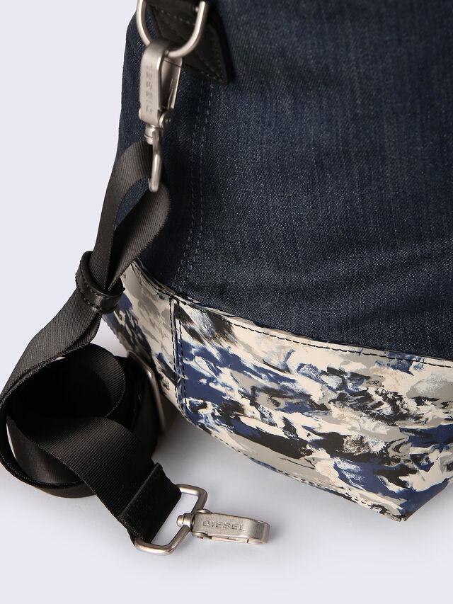 D-RUBBER DUFFLE, Blu Jeans