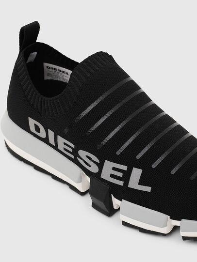 Diesel - H-PADOLA LOW SOCK, Nero - Sneakers - Image 6