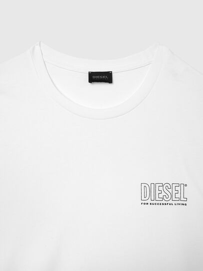 Diesel - UMLT-JAKE, Bianco - Tops - Image 3