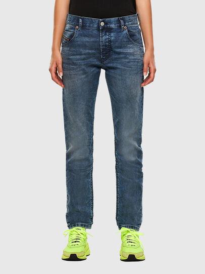Diesel - Krailey JoggJeans 069NZ, Blu medio - Jeans - Image 1