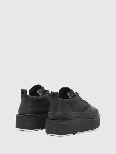 Diesel - H-SCIROCCO LOW LACE, Nero - Sneakers - Image 3