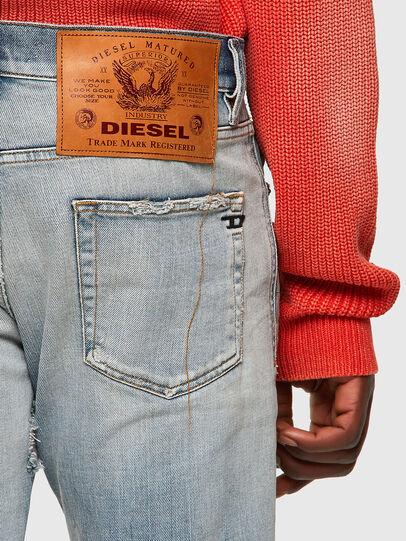 Diesel - D-Strukt 09A04, Blu Chiaro - Jeans - Image 3