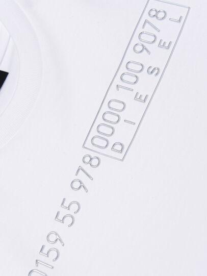 Diesel - TDIEGOSLITSJ6, Bianco - T-shirts e Tops - Image 3