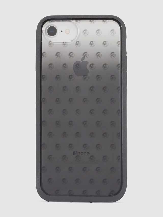 MOHICAN HEAD DOTS BLACK IPHONE 8 PLUS/7 PLUS/6s PLUS/6 PLUS CASE, Nero