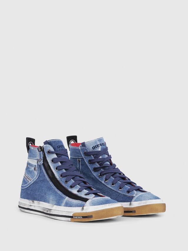 Diesel - EXPO-ZIP W, Blu Jeans - Sneakers - Image 2