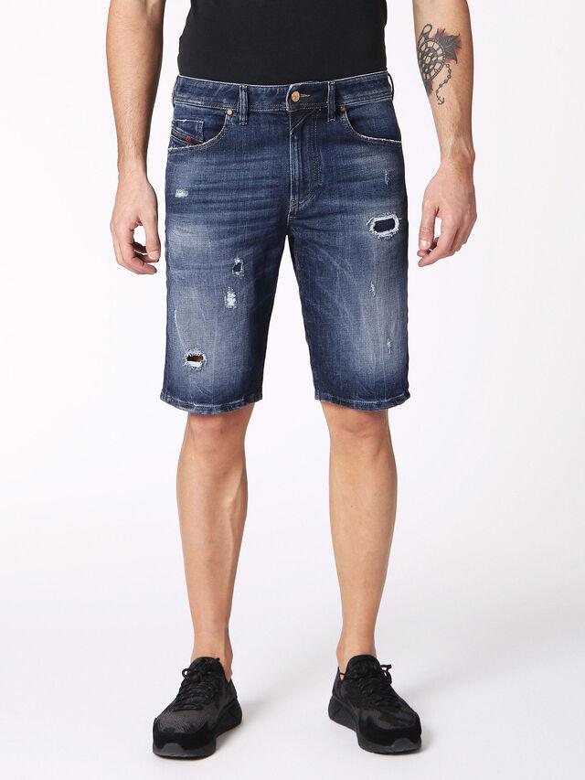 Diesel - THOSHORT, Blu Jeans - Shorts - Image 1