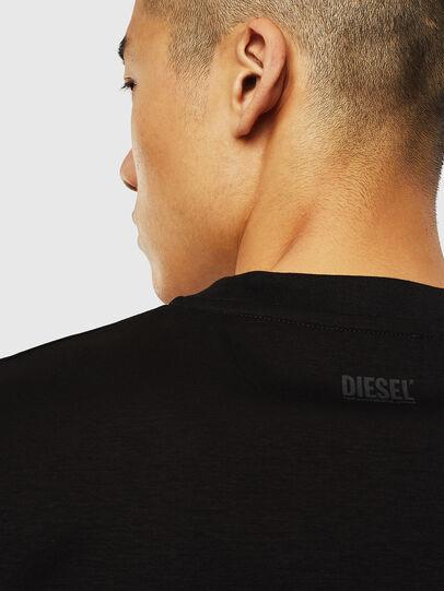 Diesel - T-JUST-J10, Nero - T-Shirts - Image 4
