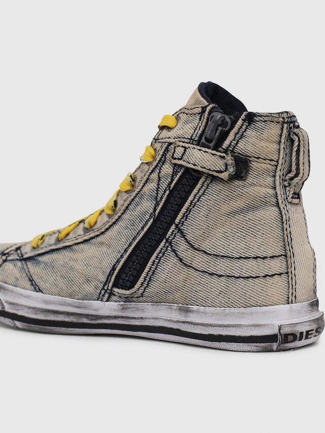 Diesel - SN MID 20 EXPOSURE Y, Grigio Jeans - Scarpe - Image 4