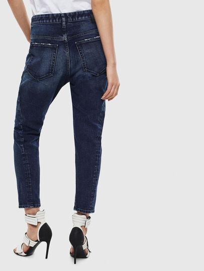 Diesel - Fayza 009BY, Blu Scuro - Jeans - Image 2