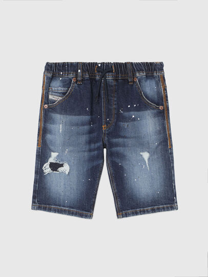 Diesel - KROOLEY-NE-J SH, Blu Scuro - Shorts - Image 1