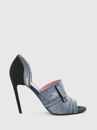 Diesel - SA-SLANTY OTD, Blu Jeans - Sandali - Image 1
