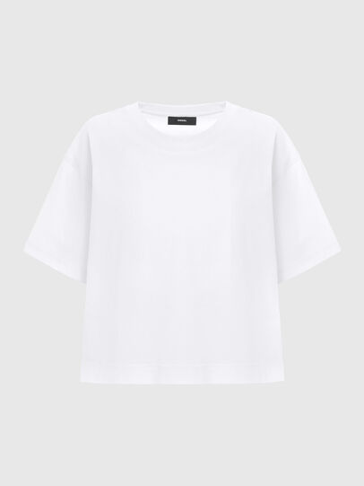 Diesel - T-BOWLESS, Bianco - T-Shirts - Image 5