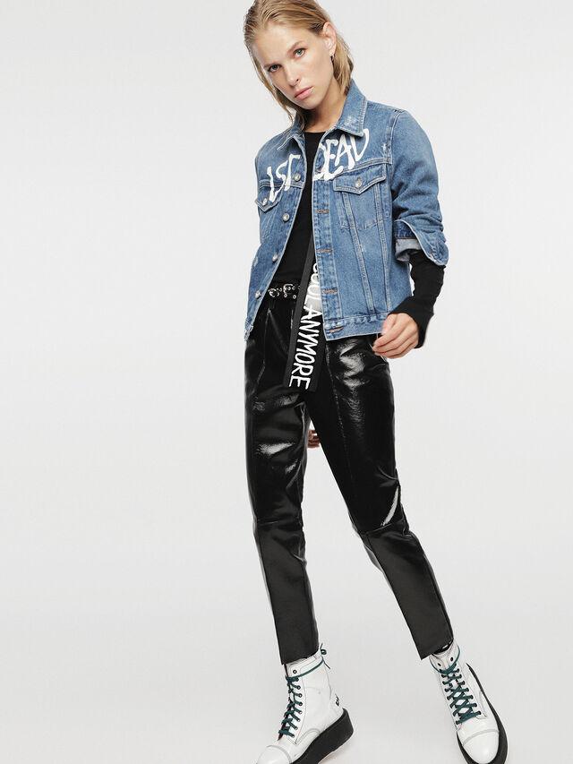 Diesel - HC-DE-VELVET, Blu Jeans - Giacche - Image 7