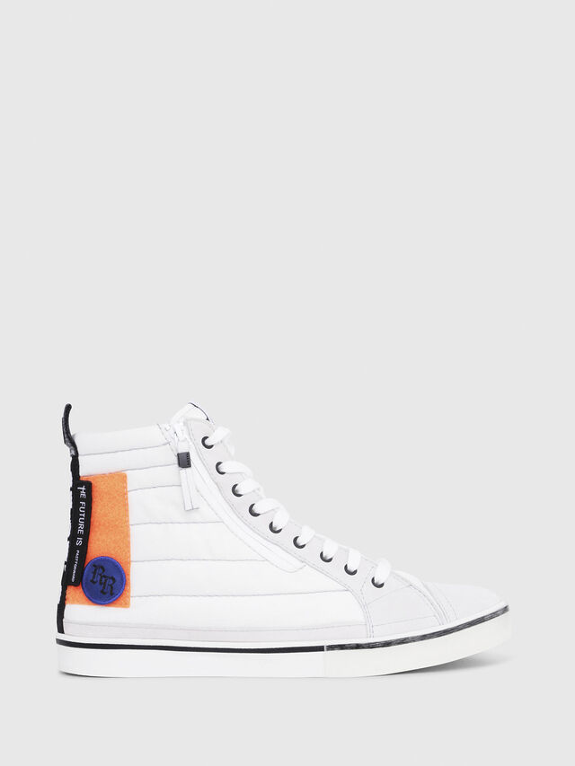 Diesel - D-VELOWS MID PATCH, Multicolor/Bianco - Sneakers - Image 1