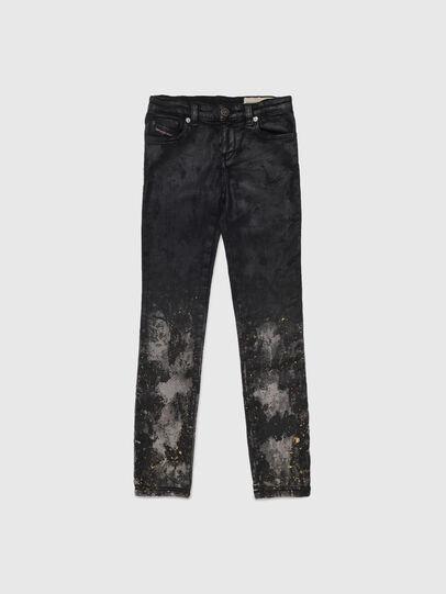 Diesel - SKINZEE-LOW-J JOGGJEANS-N, Nero/Grigio scuro - Jeans - Image 1