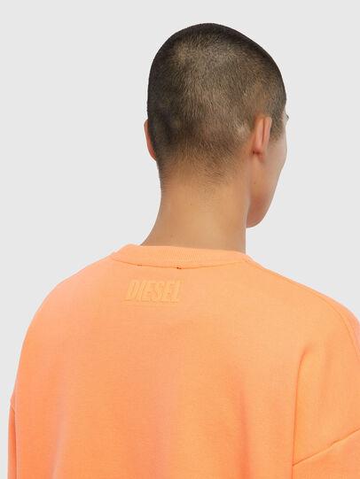 Diesel - S-MART-FLU, Arancione - Felpe - Image 4