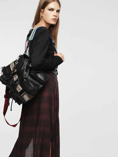 Diesel - MISS-MATCH BACKPACK, Antracite - Zaini - Image 5