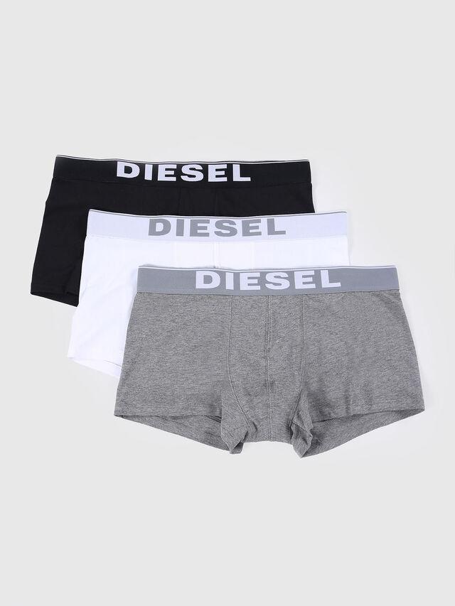 Diesel - UMBX-KORYTHREEPACK, Bianco/Nero - Boxer stretch - Image 1